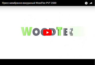 Пресс мембранно-вакуумный WoodTec PVT 2500