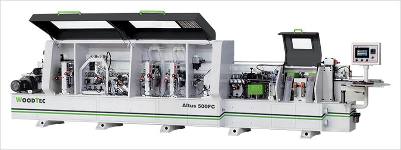 Станок для облицовывания кромок мебельных деталей WoodTec Altus 500 FC